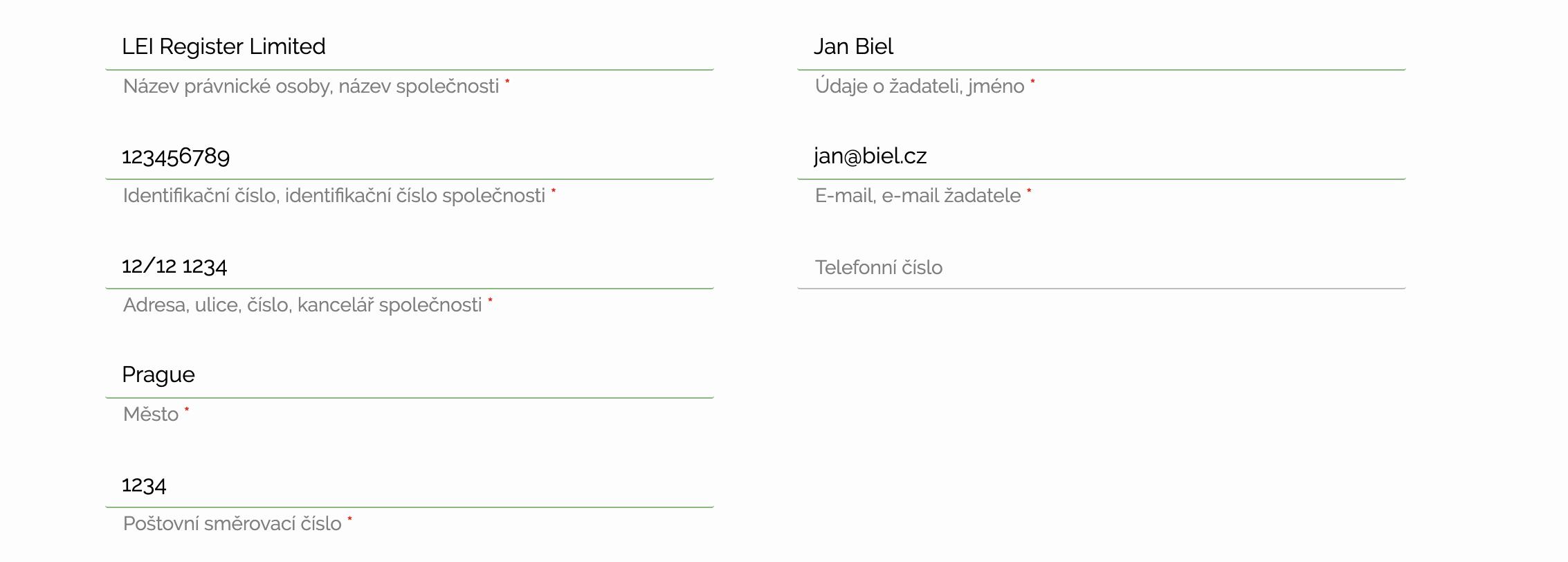 ZÍSKEJTE VAŠE KÓD LEI BĚHEM NĚKOLIKA HODIN, NIKOLIV DNÍ! Nejrychlejší a nejlevnější žádost o kód LEI v Česku
